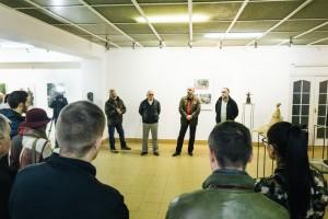 Фото з виставки скульптур