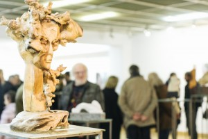 Photo from sculpture exhibition