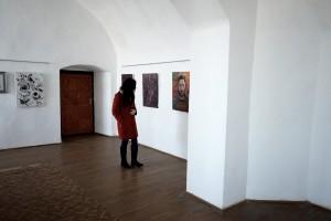 Виставка молодих художників у мукачівському замку «Паланок»