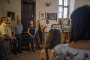 SERHII PISHKOVTSII PRESENTED A JUBILEE EXHIBITION IN MUKACHEVO