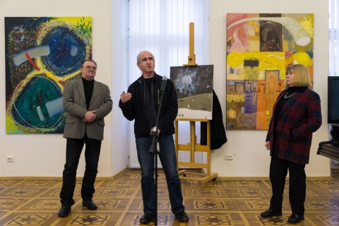"""FAVOURITES"". EXHIBITION OF SERHII BIBA, AN ARTIST"