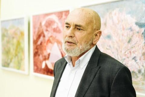 Exhibition  by Spyridon Pavlenko. Uzhgorod