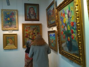 """PICTURESQUE SINGER OF VERKHOVYNA"". EXHIBITION OF ANDRII KOTSKA IN RIVNE"
