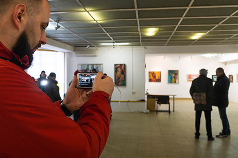 ART EXHIBITION DEVOTED TO THE VALENTINE'S DAY IN UZHHOROD