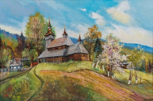 Church of St. Nicholas the Wonderworker. Bystryi Village