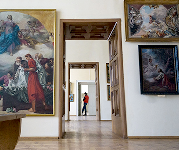 TRANSCARPATHIAN REGIONAL ART MUSEUM NAMED AFTER Y. BOKSHAI.  PART 1. TRANSCARPATHIAN PAINTING OF ХІХ – ХХ CENTURIES.