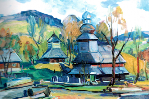 WOODEN CHURCHES IN THE WORKS OF TRANSCARPATHIAN PAINTERS