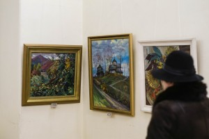 """NATIVE LAND"". EXIBITION OF VASYL SVALIAVCHYK"