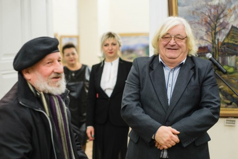 """NATIVE LAND"". EXHIBITION OF VASYL SVALYAVCHYK"