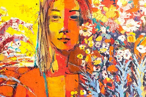 SPRING FANTASY BY OLENA KONDRATIUK AND YULIIA YEHOHOROVA-ROHOVA