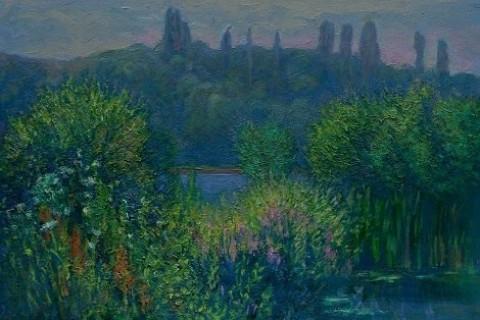 Ювілейна виставка Мирослава Греська в галереї «Ужгород»