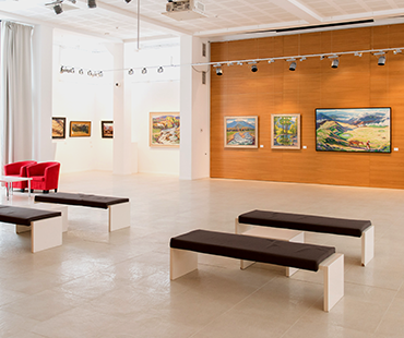"Art Centre "" Ilko Gallery "" in Uzhhorod"