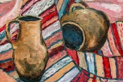У виноградівській галереї «Імпасто» – весна, перенесена на полотна місцевими художницями