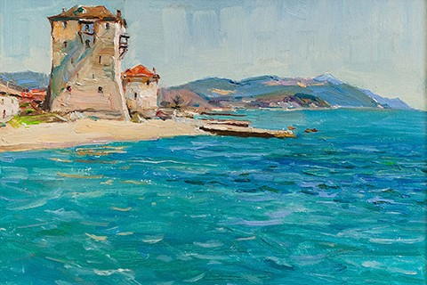 "EXHIBITION ""THE PICTURESQUE ATHOS"" BY VASYL KRASOKHA"
