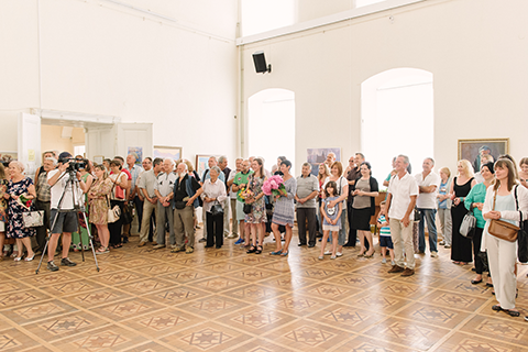 PERSONAL PAINTING EXHIBITION OF OLEKSANDR MALESH IN UZHHOROD