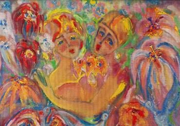 Jubilee exhibition of Liubov Mykyta