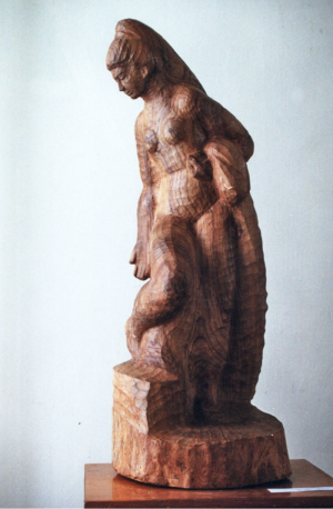 Купальниця, 1977, дер.різьб.