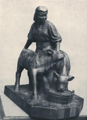 Телятниця, 1957