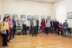 "Exhibition ""Salto mortale & Populism"" in Uzhhorod"