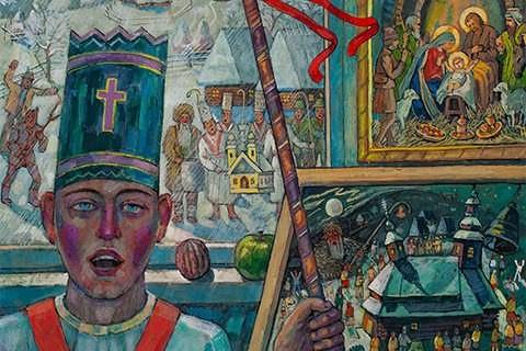 В галереї «Ужгород» відкрилася «Різдвяна виставка»