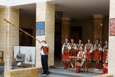 "THE EXHIBITION OF LVIV ARTISTS IN UZHHOROD OPENS THE SERIES ""GENESIS""."
