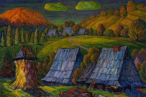 Колективну виставку словацьких митців представили в Генеральному консульстві Словаччини в Ужгороді